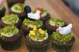 Dessert Paques Original : dis maman on mange quoi id e pour p ques n 5 cupcakes basse cour de p ques ~ Dallasstarsshop.com Idées de Décoration