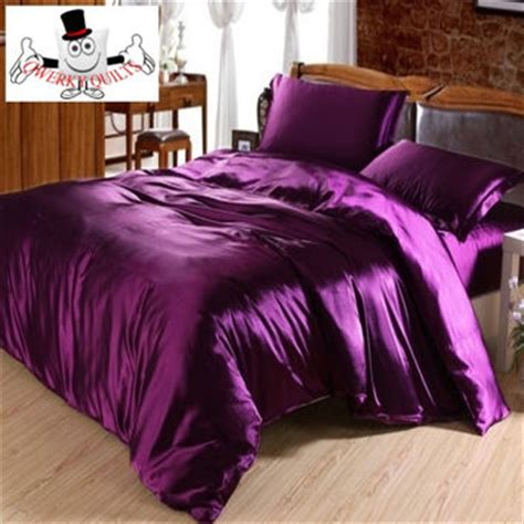 purple luxurious smooth shiny mulberry from qwerky quilts