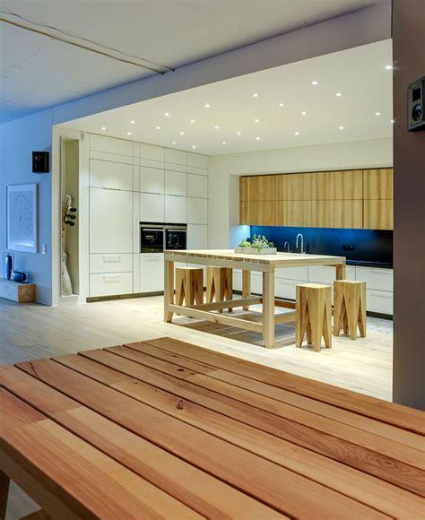 faux plafond cuisine ouverte magnifique cuisine ouvert sur salon
