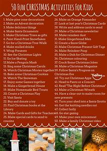 Singing House Lights 50 Fun Christmas Activities For Kids Checklist