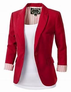 Red blazers for women - FashionHDpics.com