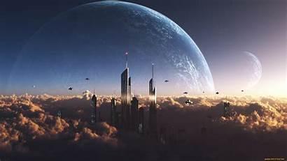Sci Fi Sky Space