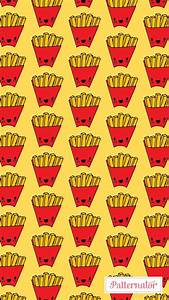 #pattern #wallpaper #iphone #background #colorful #fries # ...