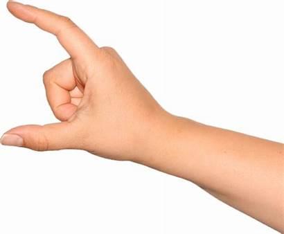 Hands Clipart Holding Fingers Transparent Manos Finger