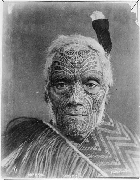 Tatouage Maori Visage
