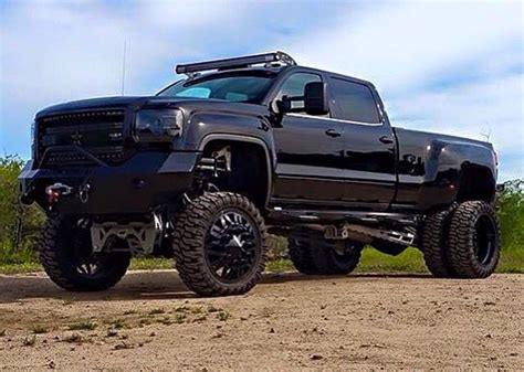 Chevy Denali Trucks by Murdered Out Denali Hd Jacked Up Trucks