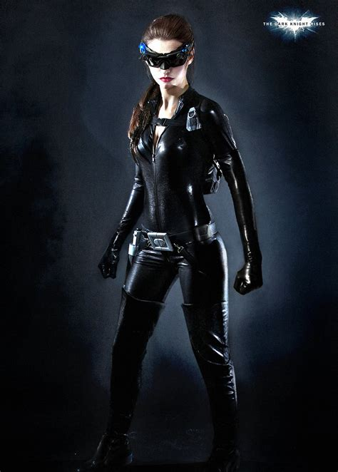 Fan Concept Art of Anne Hathaway as Catwoman