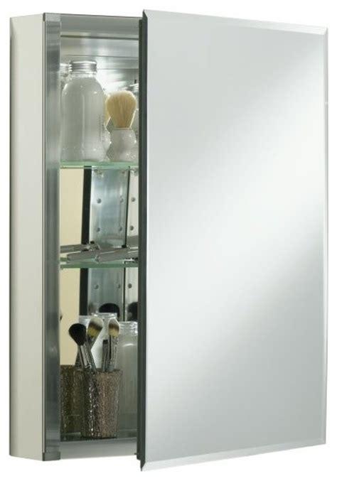 kohler k cb clc2026fs aluminum single door medicine