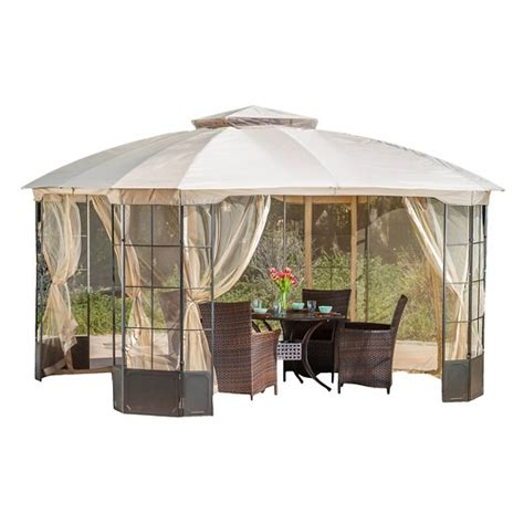 canopies at target westerly 13 x 13 steel patio gazebo camel