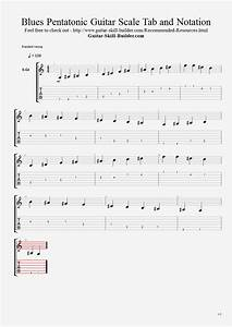 Guitar Scales Chart Printable Pdf Guitar Pentatonic Scales The 3 Types Of Pentatonic