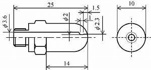 Improved Leek Peeler Nozzle  Dimensions In Mm