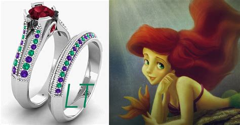disney inspired engagement rings   future prince