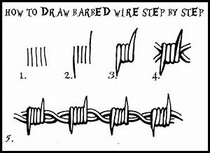 image result for barbed wire drawing horse trailer With wiring meme