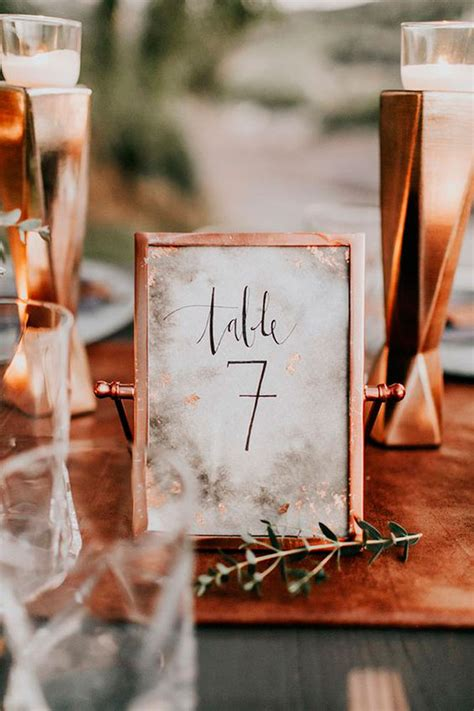 Harsanik Rose Gold and Copper Wedding Trend