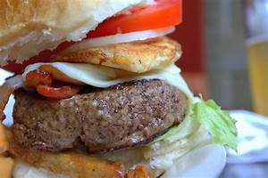 Bacon Cheeseburger With Fried Egg – Local 44 ...