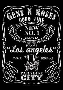 Guns N Roses Fabric Poster