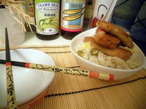 recette cuisine frigo recette de riz reste du frigo