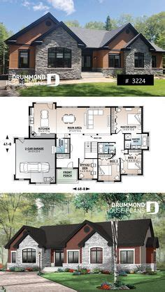 house plan Dambroise No 3224 Bungalow floor plans