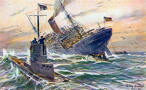 Advantages Of U Boats In Ww1 by Desertoss Licensed For Non Commercial Use Only World