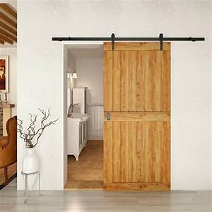 porte coulissante grange 35 idees pour la chambre rustique With porte en bois de chambre