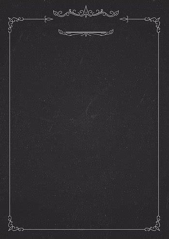 vertical cafe menu classic blackboard background stock