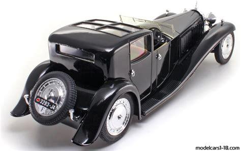Solido 1937 bugatti type 57 sc atlantic rhd light blue 1/18 diecast car s1802104. 1930 - Bugatti Type 41 Royale Coupe de Ville sedan Solido 1/21 - Details
