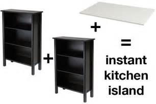 how to make your own kitchen island how to make an easy island craft table