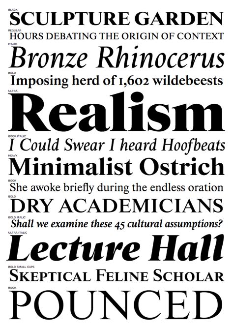 font bureau fonts newspaper text typefaces