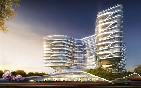 HOK Design for Shanghai International Hospital Wins WAN