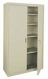 New storage cabinets adjustable shelves fixed shelves for Shelves and cabinets