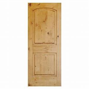 Krosswood Doors 36 in. x 80 in. Rustic Knotty Alder 2 ...