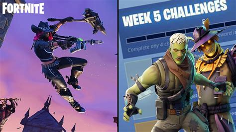 fortnite week 5 challenges fortnite season 6 week 5 challenges and how to complete