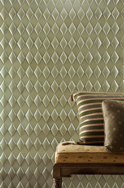 faux leather tiles for stylish creative wall decors