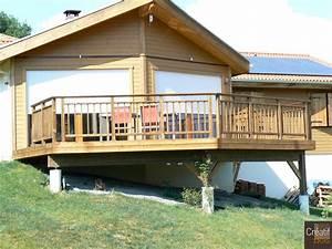 terrasse bois en hauteur limoges haute vienne 87 With terrasse en bois en hauteur