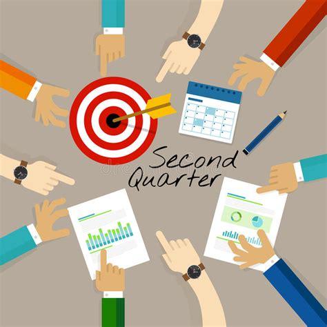 Business Quarters Second Quarter Business Report Target Corporate Financial