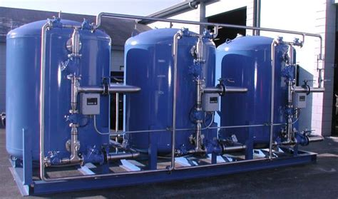 Automatic Parallel Triplex Industrial Water Softener Ast
