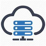 Hosting Server Icon Cloud Web Services Icons