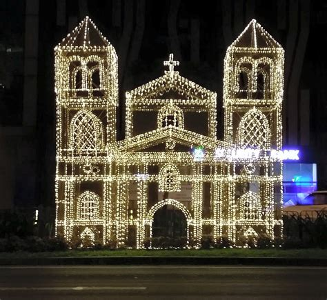 makati cbd lights  christmas  philippines oldest