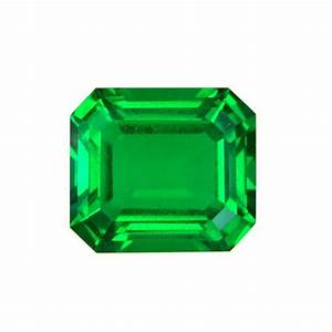 Lab Created Hydrothermal Colombian Emerald Octagon Loose ...  Emerald