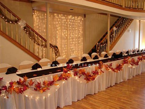 Robyn's wedding ideas Fall wedding tables Fall wedding