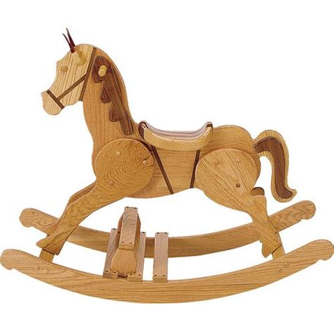 wooden rocking horse plan toys woodworking projects plans