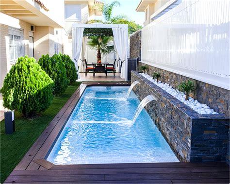 rumah minimalis  kolam renang rumah kaori