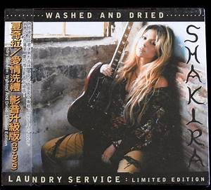 Shakira Laundry Service Washed And Dried Cd Album