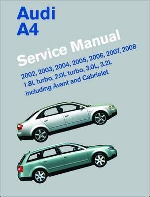 free service manuals online 2007 audi a4 security system audi a4 service manual 2002 2008 b6 b7 bentley publishers 9780837615745