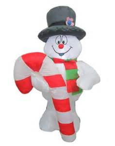 frosty the snowman airblown inflatable