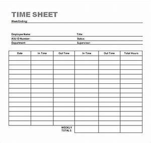 weekly timesheet templatetimesheet time sheet template With easy timesheet template