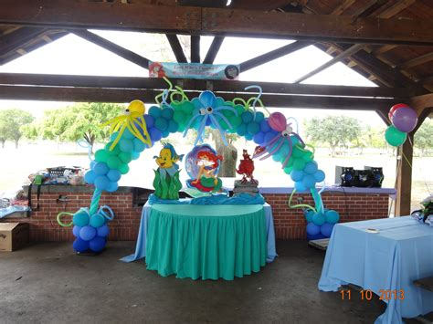 Party Rental Little Mermaid  Ariel Decoration