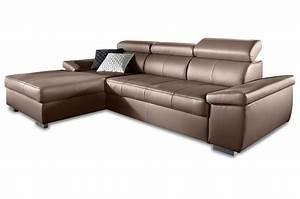 L Sofa Mit Schlaffunktion : ecksofa links braun sofas zum halben preis ~ Frokenaadalensverden.com Haus und Dekorationen