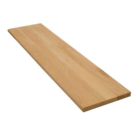 oak stair treads home depot stair treads risers stair parts moulding millwork the home depot