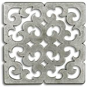 accent tiles for kitchen backsplash constantine 3x3 inch pewter tile metal tile accent tiles